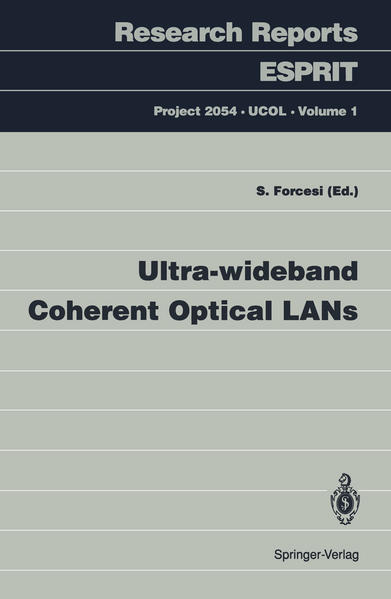 Ultra-wideband Coherent Optical LANs - Coverbild