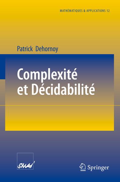 Complexité et Décidabilité - Coverbild