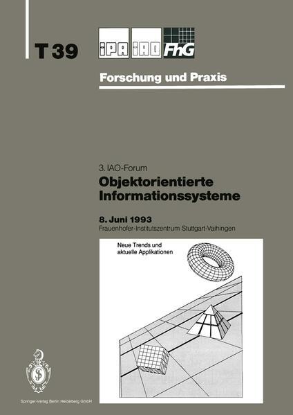 Objektorientierte Informationssysteme - Coverbild