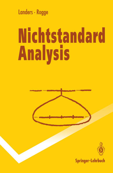 Nichtstandard Analysis - Coverbild
