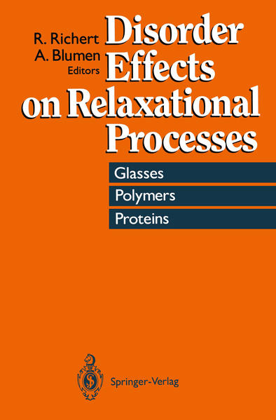 Disorder Effects on Relaxational Processes - Coverbild