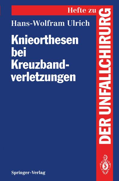 Knieorthesen bei Kreuzbandverletzungen - Coverbild