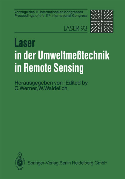 Laser in der Umweltmeßtechnik / Laser in Remote Sensing - Coverbild