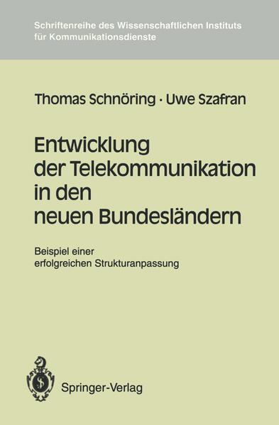 Entwicklung der Telekommunikation in den neuen Bundesländern - Coverbild