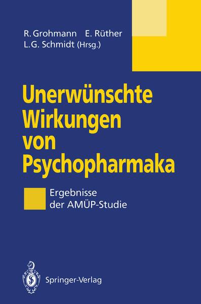 Unerwünschte Wirkungen von Psychopharmaka - Coverbild