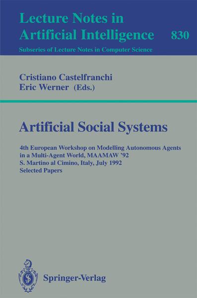 Artificial Social Systems - Coverbild
