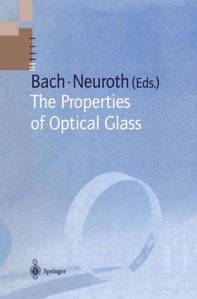 The Properties of Optical Glass - Coverbild