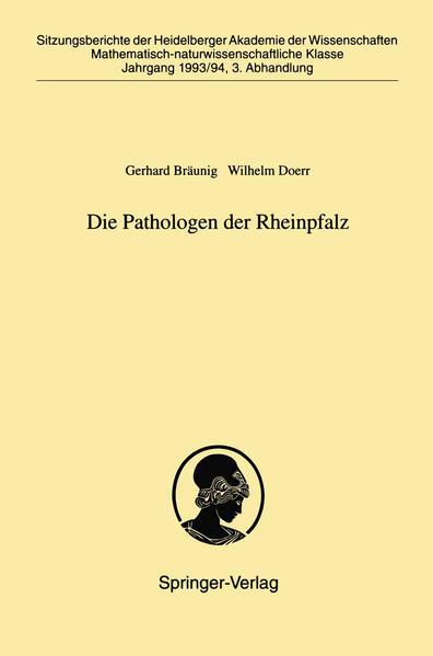Die Pathologen der Rheinpfalz - Coverbild