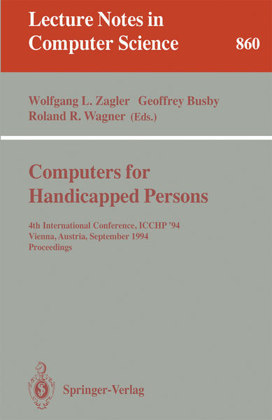 Computers for Handicapped Persons - Coverbild
