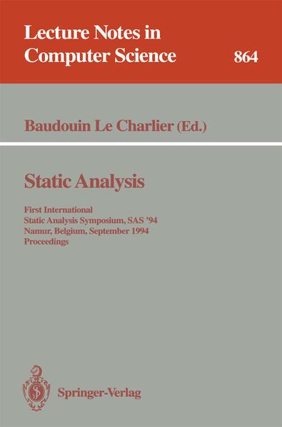 Static Analysis - Coverbild
