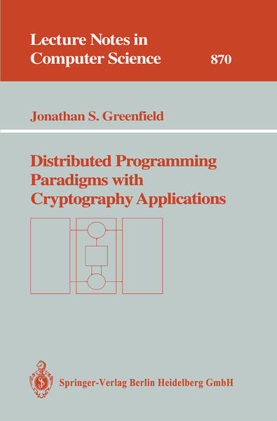 Distributed Programming Paradigms with Cryptography Applications - Coverbild
