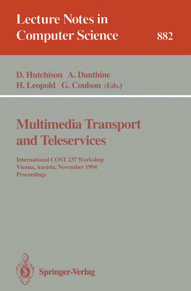 Multimedia Transport and Teleservices - Coverbild