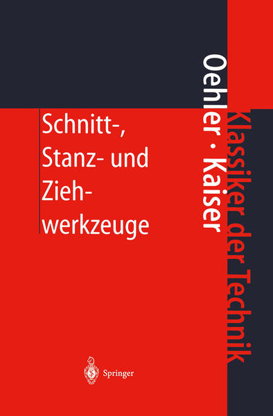Schnitt-, Stanz- und Ziehwerkzeuge - Coverbild