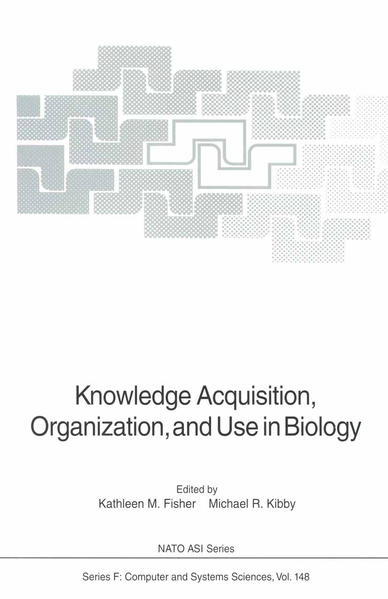 Knowledge Acquisition, Organization, and Use in Biology - Coverbild
