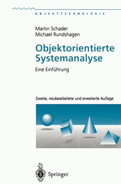 Objektorientierte Systemanalyse - Coverbild
