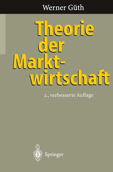 Theorie der Marktwirtschaft - Coverbild