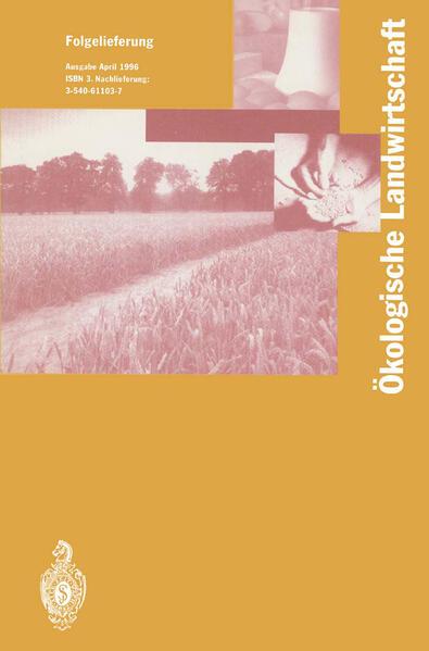 Ökologische Landwirtschaft - Coverbild
