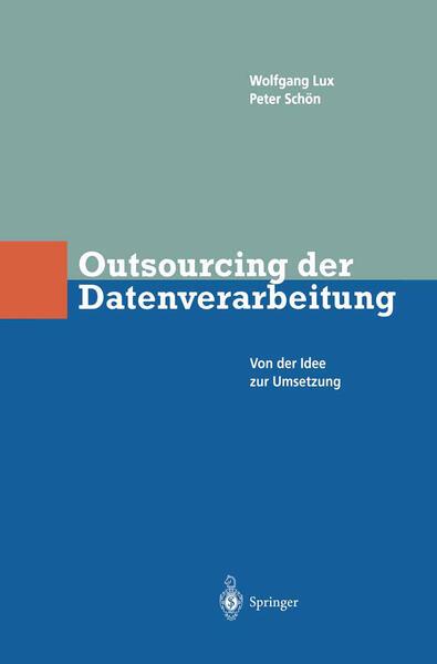 Outsourcing der Datenverarbeitung - Coverbild