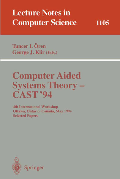 Computer Aided Systems Theory - CAST '94 - Coverbild
