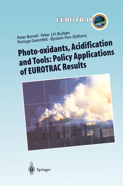 Photo-oxidants, Acidification and Tools: Policy Applications of EUROTRAC Results - Coverbild
