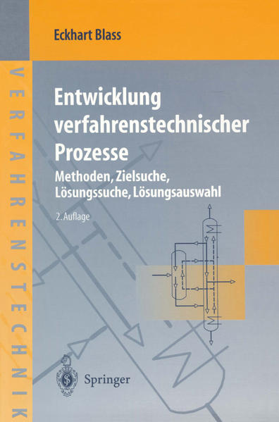 Entwicklung verfahrenstechnischer Prozesse - Coverbild