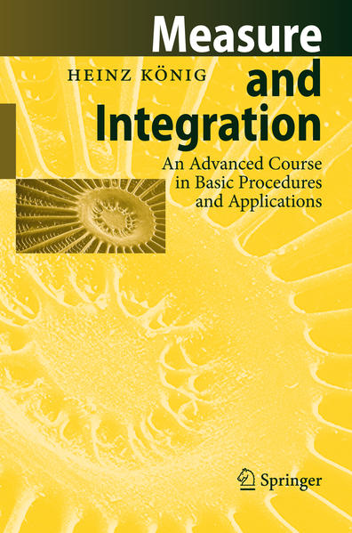 Measure and Integration - Coverbild