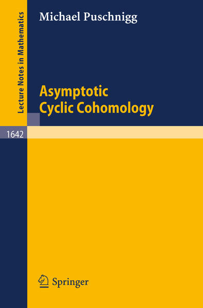 Asymptotic Cyclic Cohomology - Coverbild