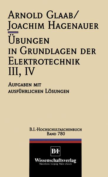 Übungen in Grundlagen der Elektrotechnik III, IV - Coverbild