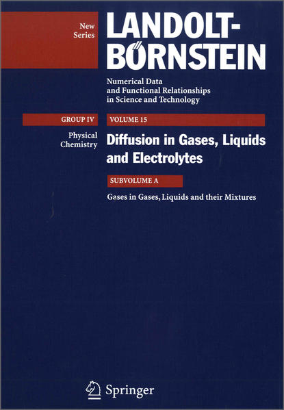 Gases in Gases, Liquids and their Mixtures - Coverbild