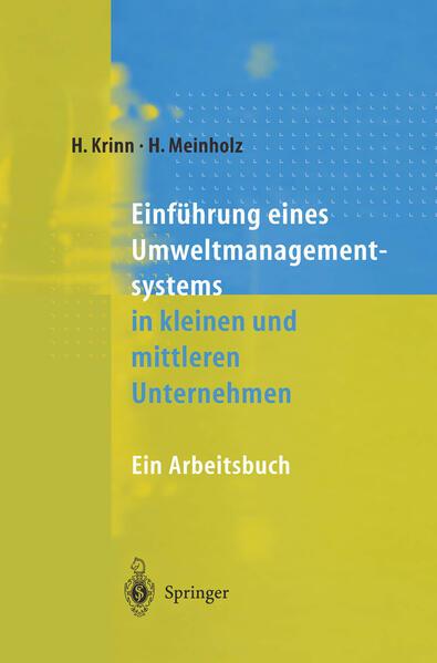 Einführung eines Umweltmanagementsystems in kleinen und mittleren Unternehmen - Coverbild
