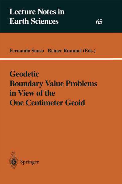Geodetic Boundary Value Problems in View of the One Centimeter Geoid - Coverbild