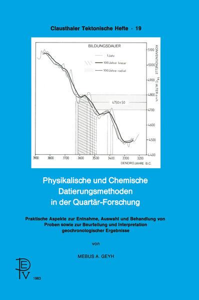 Physikalische und Chemische Datierungsmethoden in der Quartär-Forschung - Coverbild