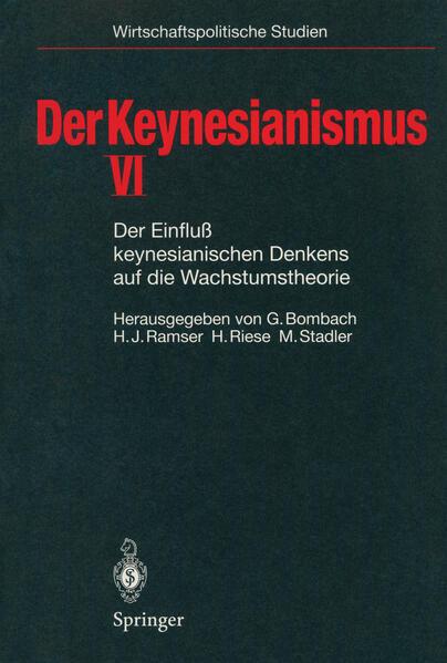 Der Keynesianismus VI - Coverbild