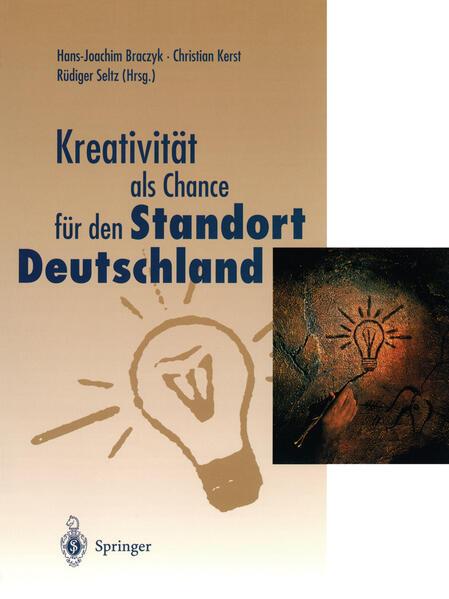 Kreativität als Chance für den Standort Deutschland - Coverbild
