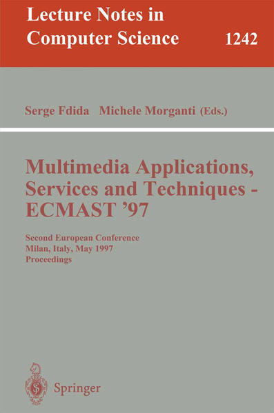 Multimedia Applications, Services and Techniques - ECMAST'97 - Coverbild