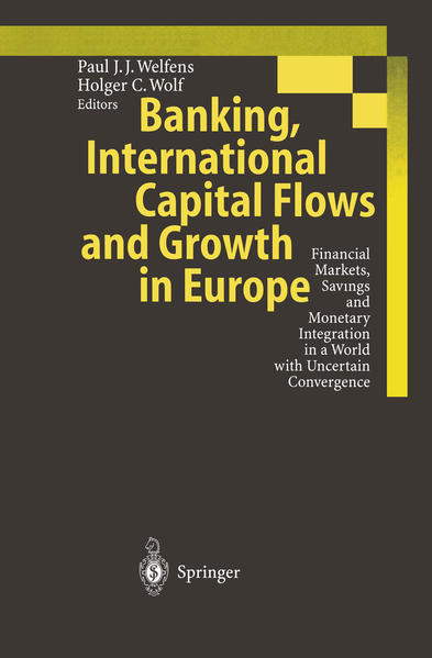 Banking, International Capital Flows and Growth in Europe - Coverbild