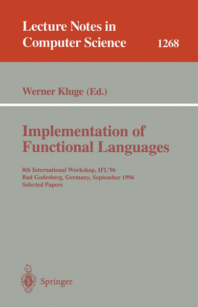 Implementation of Functional Languages - Coverbild