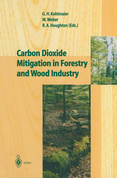 Carbon Dioxide Mitigation in Forestry and Wood Industry - Coverbild