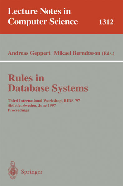 Rules in Database Systems - Coverbild