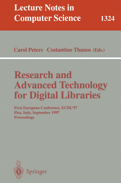 Research and Advanced Technology for Digital Libraries - Coverbild