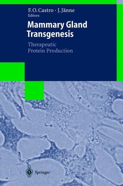 Mammary Gland Transgenesis: Therapeutic Protein Production - Coverbild
