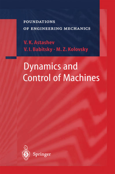 Dynamics and Control of Machines - Coverbild
