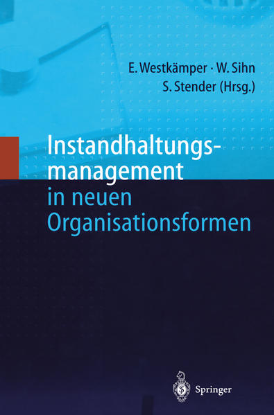 Instandhaltungsmanagement in neuen Organisationsformen - Coverbild