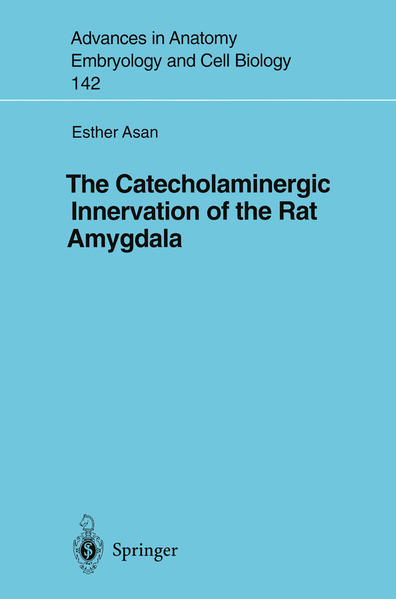 The Catecholaminergic Innervation of the Rat Amygdala - Coverbild