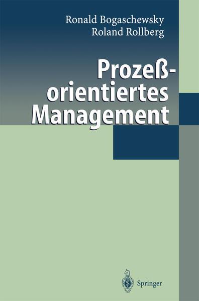 Prozeßorientiertes Management - Coverbild