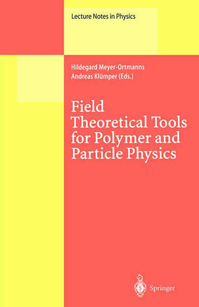 Field Theoretical Tools for Polymer and Particle Physics - Coverbild