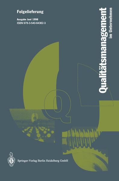 Qualitätsmanagment im Unternehmen - Coverbild