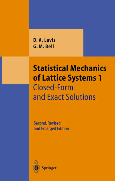 Statistical Mechanics of Lattice Systems - Coverbild
