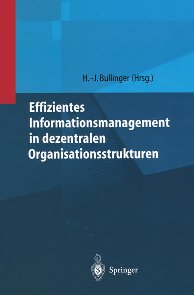 Effizientes Informationsmanagement in dezentralen Organisationsstrukturen - Coverbild