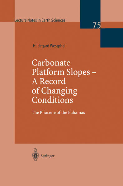 Carbonate Platform Slopes — A Record of Changing Conditions - Coverbild